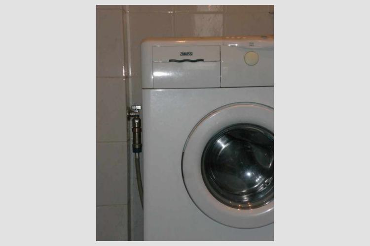 Пример установки ГМС-20М для защиты стиральных машин